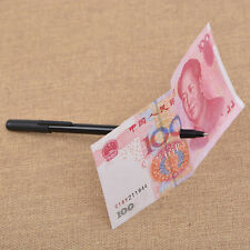 Close Up Magic Pen Penetration Through Paper Dollar Bill Money Trick Tool HOT