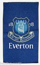 RUG EVERTON CREST PRINTED BEDROOM FLOOR MAT BLUE TOFFEES FOOTBALL CLUB TEAM