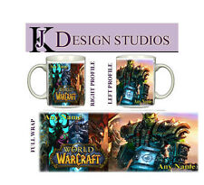 World of Warcraft Thrall Personalised Gaming Mug