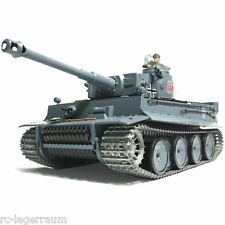 1:16 RC Panzer TIGER 1 Heavy Upgrade Version Rauch Sound Schuss Heng Long 2336