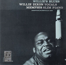 WILLIE DIXON - MEMPHIS SLIM : WILLIE'S BLUES / CD (OBCCD 501-2) - NEUWERTIG