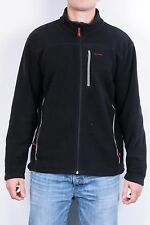 Helly Hansen Mens M Fleece Top Black Sweatshirt Jacket Track Top
