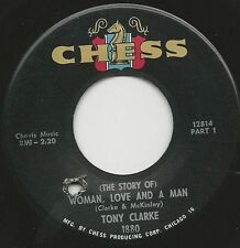 1964 TONY CLARKE Northern Soul 45 (Story Of) Woman Love And A Man Parts 1 & 2