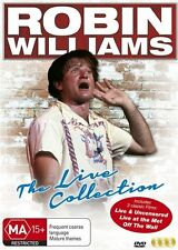 Robin Williams Triple Pack: Live at the Met / Live and Uncensored NEW R4 DVD