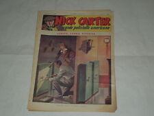 NICK CARTER-IL GRANDE POLIZIOTTO AMERICANO-SERIE NERBINI ANNI '40 ORIGINALE N.72