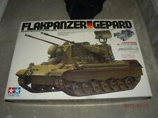 TAMIYA R/C TANK 1/16 GERMAN FLAKPANZER GEPARD KIT #56003 instruction is copy