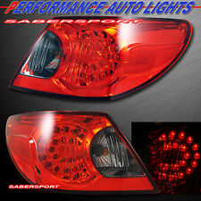 "2007-2008 CHRYSLER SEBRING 4DR SEDAN ""L.E.D."" TAIL LIGHTS LED PAIR PLUG n PLAY"