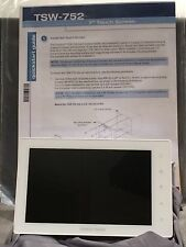 "Crestron CORE3 TSW-752 7"" touch panel, SIP intercom, voice recognition white NEW"