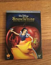 Disney's Snow White And The Seven Dwarfs 2-Disc DVD,W/Collectible Slipcover,New!