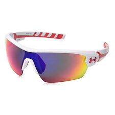 UNDER ARMOUR RIVAL SUNGLASSES SHINY WHITE/RED FRAME / GRAY/INFRARED MULTI 17627