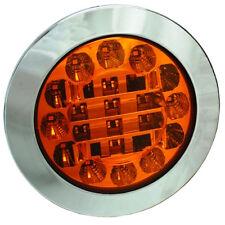 MONARK LED 12 V & 24V Blinkleuchte Blinker CHROM LEUCHTE CHROM LKW TRUCK TRAILER