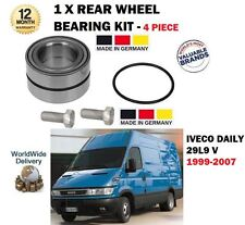FOR IVECO DAILY 29 L9 2.8D 1999-2007 NEW 1 X REAR WHEEL BEARING 4 PIECE KIT