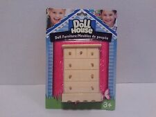 """Wooden Dollhouse Furniture - """"Chest"""" Girls Pretend Play Doll Toy Game Arts/Craft"""