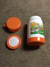 (PL) Vintage 8 oz Tropicana Orange Juice Plastic Thermos; Free US Shipping