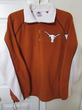 NCAA Texas Longhorns 1/2 Zip Fleece Pullover XL EUC