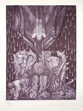 """Ernst Fuchs """"Adams Zerstörung und Verheissung"""""""