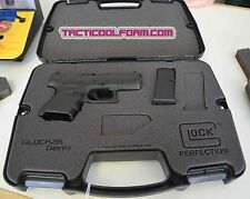 Custom Case for GLOCK 26 Gen4- Perfectly Cut Inserts Perfect Fit!
