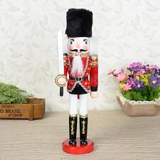 Nutcracker Soldier Guard Sword Wood Nut Cracker Christmas Holiday Decoration