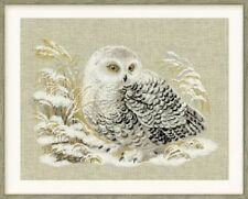 White Owl - Riolis Counted Cross Stitch Kit New
