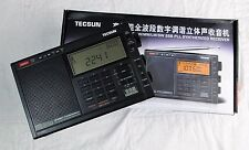 Tecsun PL-600 FM / SW / MW / LW / SW SSB PLL Synthesized Receiver (220V 50Hz PS)