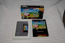 KIRBY'S AVALANCHE SUPER NINTENDO GAME COMPLETE IN BOX