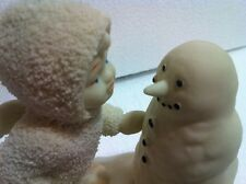 """SNOWBABIES: """"WHY DON'T YOU TALK TO ME""""==IN BOX-Dept 56~FREE X-MAS MUSIC CD"""