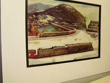 Pennsylvania Railroad  artist Grif Teller 1950 Railroad Archives Museum