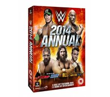 WWE Annual 2014 6er [DVD] DEUTSCH The Best of Raw, Smackdown & PPV Matches 2013