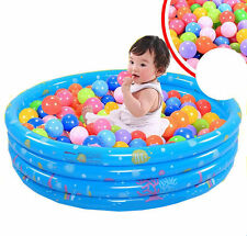 50pcs Balloon Colorful Ocean Ball Soft Plastic Playground Equipment Kid Toy