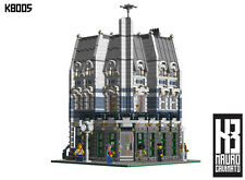Lego® Custom Instructions - Modular Buildings - K8005 Bookshop