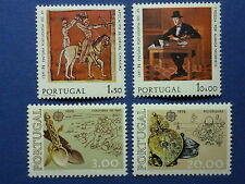 LOT 107 TIMBRES STAMP EUROPA CEPT PORTUGAL ANNEE 1975-76