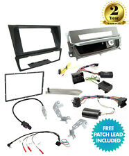 CTKBM12 Double Din Stereo Fascia Fitting Kit For BMW 3 Series E90/ E91/E92 06-14