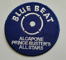 NORTHERN SOUL MUSIC SEW ON / IRON ON PATCH:- BLUE BEAT PRINCE BUSTER'S ALL STARS