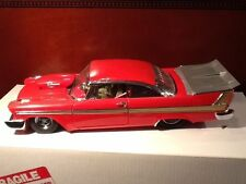 1:24 Danbury Mint 1958 plymouth fury pro street machine-rare en OVP