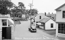 1930s Ocean Avenue Kennebunkport Maine Pine Cone & Red Dragon Gift Shops
