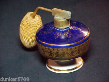 3 IN HIGH JLONA PERFUME BOTTLE WITH ATOMIZER WESTERN GERMANY