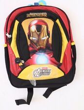 "IRON MAN ""THE ARMORED AVENGER"" DELUXE BACKPACK BOYS NWT"
