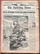 11-7-51 SPORTING NEWS MICKEY MANTLE WILLIE MAYS BASEBALL ALL-STARS AS ROOKIES
