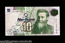 NORTHERN IRELAND 10 POUNDS P206 2005 BICYCLE DUNLOP UNC CURRENCY GB UK BANK NOTE