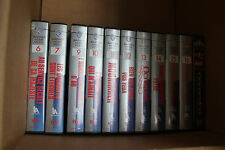 Lot 11 James Bond VHS K7 Collection United Artists Roger Moore, Sean Connery