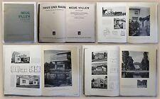 Hoffmann Neue Villen Bd 1 Haus und Raum Ratgeber 1933 Architektur Bauhaus xz