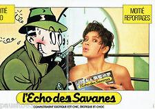 PUBLICITE ADVERTISING 016  1985  L' Echo des Savanes (2p)