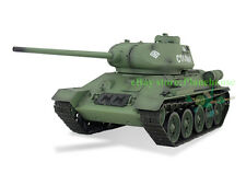 Henglong 1/16 WWII Soviet T34/85 RTR RC Tank Basic Plastic Ver Sound Smoke 3909