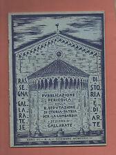 Gallarate Varese+RASSEGNA GALLARATESE DI STORIA E D'ARTE-a.VII-n.4-Dicembre 1936