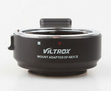 Viltrox Auto Focus AF Canon EOS EF len to Sony NEXII E Mount AF Adapter NEX6 A7R