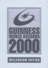 Guinness World Records 2000 : Millennium Edition by Guiness Guinnes Book Of HC