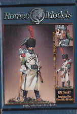 ROMEO MODELS - RM 54-037 - 54mm REIGN OF NAPLES LINE INFANTRY SAPPEUR 1812-15