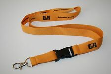 B & R Automation is Arancione Nastro chiave/Lanyard/Keyholder Nuovo!!!