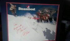 Olympic Gold Medalist Skier Bill Kidd Signed Steamboat Print