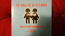 DJ SALEX & 2CHRIS - ONLY FOR FRIENDS EP. CD SINGOLO 8 TRACKS